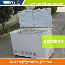 solar powered home appliance AC110V-240V DC24v 12v fridge freezr solar deep freezer