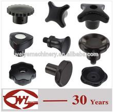 WEIYE hot sale plastic or Bakelite hand shaped door knob