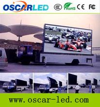 outdoor moving advertising/truck led billboard tv/mobile billboard truck P10