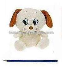 15cm oturma hayvan tasarım köpek nakış gözler
