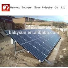 2015 solar energy system 200w mono pv solar panel, 125*125 solar cell