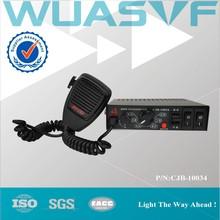 100w unit amplifier police vehivle siren with speaker