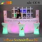 Bar Table with LED lights, PE plastic Bar Tables