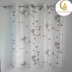 imported curtains burnout floral curtains for living room