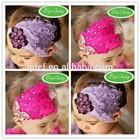 Newborn baby peacock feather headband ,cute girl feather crown headband,comfortable baby elastic headband