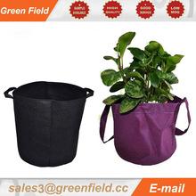 Popular best sale hanging green wall fabric planter bag,cheap fabric bags