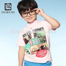 2015 new arrival kids brand wear custom kids t shirts Kids embroidered t shirts