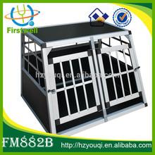 pet cat animal transport carrier crate dog cage aluminium
