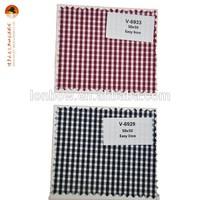 Classic cotton check fabric school uniform in bulk