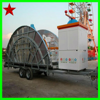 Coffee cup rides on trailer cup carousel on trailer for sale