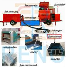 automatic clc block&panel production line,concrete foam light weight block making machine,clc autoclave panel