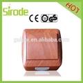 flush tipo de superfície de madeira interruptor de luz