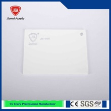 Jumei solid surface sheets heat resistant white plexiglass acrylic sheet