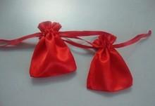 The Red Satin Bag satin shoe bag