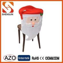Mr&Mrs Santa claus table chair cover