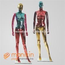 New design plastic mannequin body art