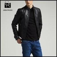 china 2015 wholesale garment fashion spring leather jacket men blazer designs