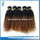 Temple virgin indian hair capelli hair spring curl 1b/ 33 hair