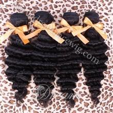 2015 Wholesale Factory Price!! 6A Malaysian Virgin Hair Sliky Straight/Deep Wave Bundle Machine Weft 100%Human Hair Extensions