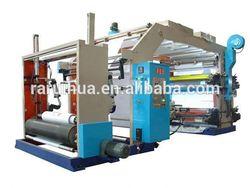 high speed 6 color flexo print machines