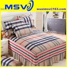 digital printing bed skirt,European cotton bed skirt,home use british style cotton bed skirt