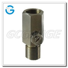 High quality stainless steel pressure snubber