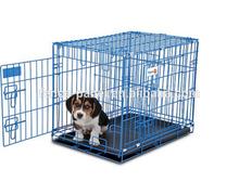 China wholesale aluminum folding dog cage / big dog cage / dog cage aluminium
