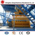 patio 2 autocargadores mezclador concreto precio de la máquina para la venta