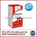 Veterinaria / la medicina de los animales 5% 10% 20% Enrofloxacin inyección
