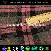 check and stripe fabric