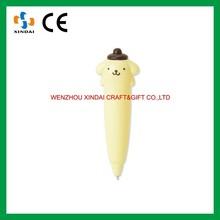 Cute animal plastic ball pen,cheap ball pen