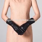 Fashion Women Sheep Winter Leather Dress Gloves