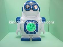 Robot Projection Digital Alarm Clock For Kids