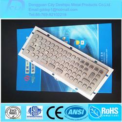 Superior Quality Specialized Industrial USB/Kiosk Metal Keyboard