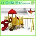 Custom made JT-7601B crianças ao ar livre de playground de madeira
