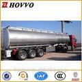 De China caliente de la venta de tres ejes 50cbm tanque de alimentación de semi remolque