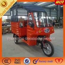 3 wheeled motorized passenger truck with 175cc air cooler / Simple passenger with gasoline three wheeled motor