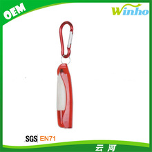Winho Multi-function Plastic Carabiner Pen With Reel
