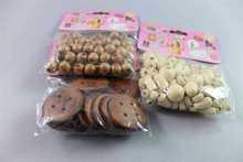 Best sell round craft wooden beads popular polyresin turtle figurine crafts