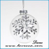 ornament balls *Christmas glass ball*xmas silk ball ornament, clear glass ball ornaments bulk, christmas glass ball