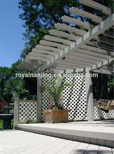 wpc garden pergola