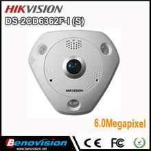Panoramic View DS-2CD6362F-I S Alarm/Audio 6MP Camera IP Hikvision IR