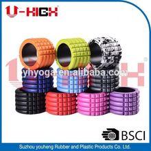 body yoga roller 049 Portable High Density EVA Foam Roller