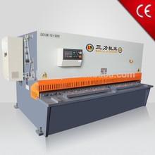 china manufacturer cnc hydraulic swing shearing machine