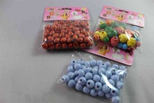 fashion wood loose beads plastic crafts christmas ball