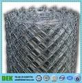 design écransplafonds galvanisé chain link fence avec des fils de fer barbelés