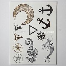 custom gold foil see tattoo supply