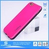 Pure plastic case custom cell phone hard cover for apple iphone 6