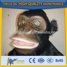 Cetnology Hot sale walking mechanical animal monkey