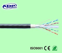 Shenzhen ADP 12 years' factory high quality high speed outdoor cat6 ftp cable